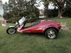 RUPP tricycle side view